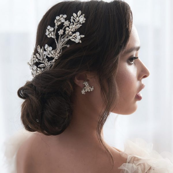 SU 13-53 SAMANTHA luxury bridal headpiece