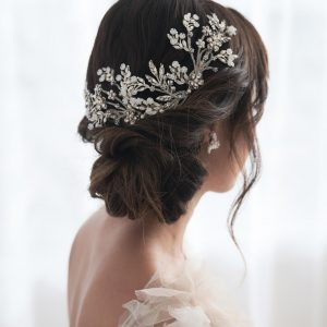 SU 13-53 SAMANTHA luxury bridal headpiece