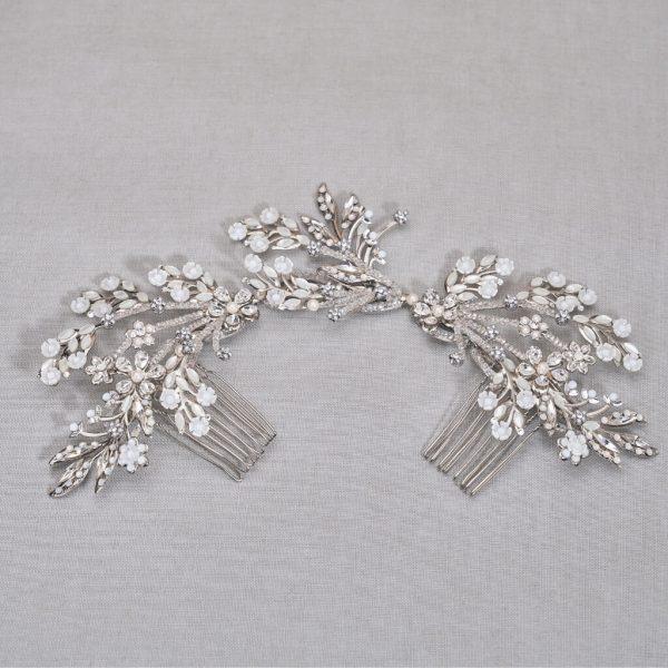 SU 13-53 SAMANTHA luxury bridal comb