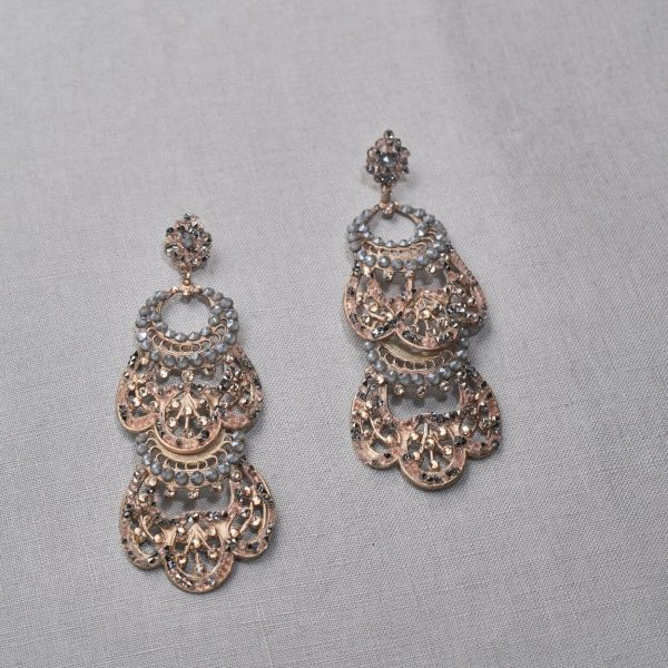 MILCAH SS 20-03 maria elena headpieces holiday collection earrings